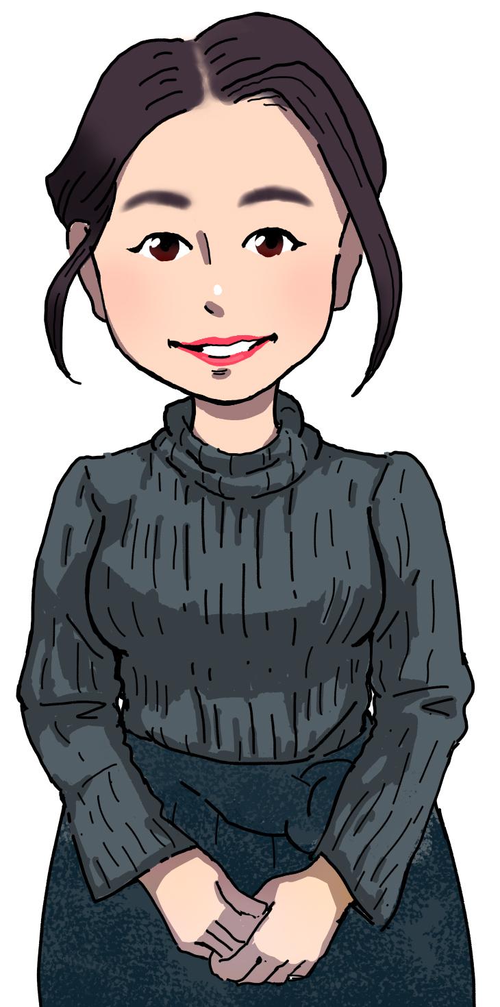 Yukari先生似顔絵