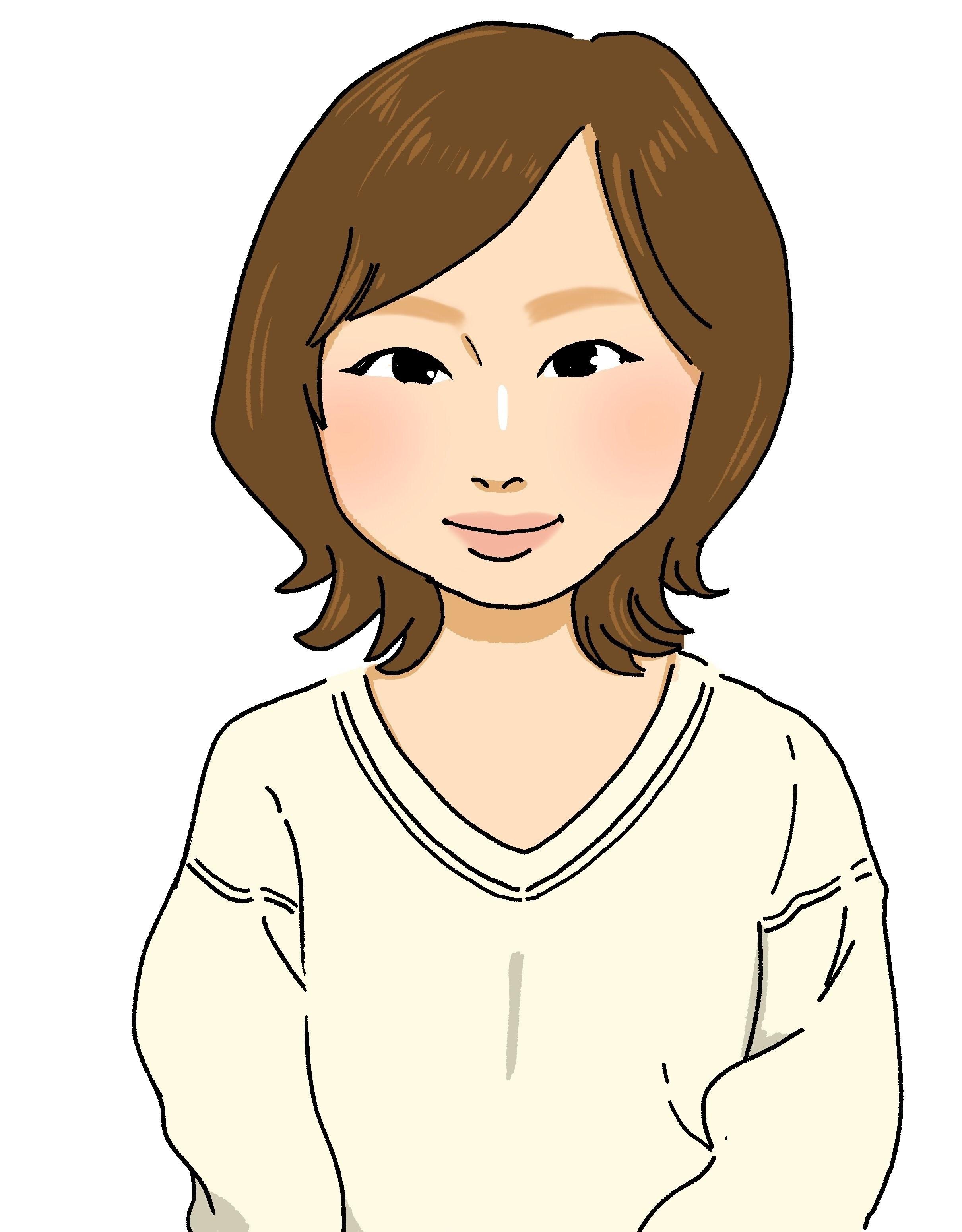 Natsuki先生似顔絵